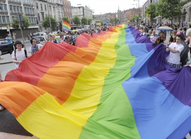 Dublin's Gay Pride Parade in 2010.
