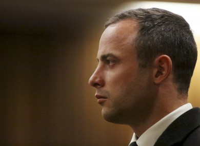 Pistorius underwent testing to d