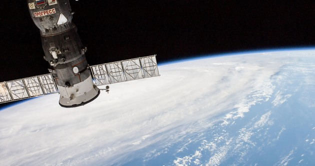 Astronauts take photos of storm causing devastation in Japan