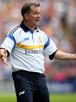 Davy Fitzgerald can't believe what he's seeing.