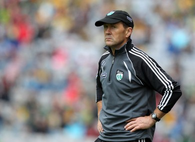 Jack O'Connor is at the helm of the Kerry minor football side today.