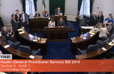 The government doesn't have a majority in the Seanad, but will pass a law to fix that today