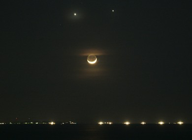 'Double Planet' in the skies tonight, as Venus and Jupiter ...